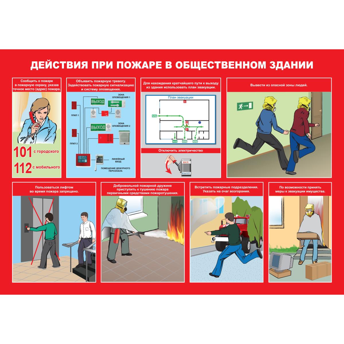 инструкция по пожарной охране здания